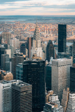 View Of The Chrysler Building In Midtown Manhattan, New York City