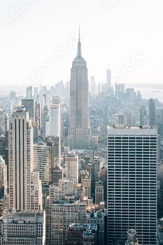 Foto op Plexiglas New York City The Empire State Building and Midtown Manhattan skyline, in New York City