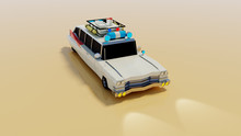 Ghostbusters Ecto-1 Car