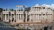MERIDA, BADAJOZ, SPAIN The Roman Theatre of Merida
