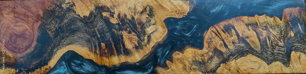 Photo & Art Print casting epoxy resin burl wood abstract