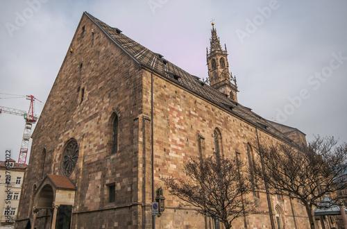 Fotografie, Obraz  Duomo di Bolzano dedicato a Santa Maria Assunta in Alto Adige, Italia