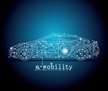 E-car - E-mobility