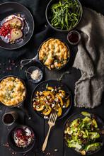 Dark Moody Warm Harvest Food Spread