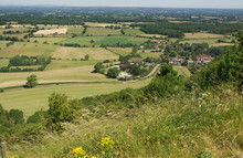 View Over Sussex Weald From De...