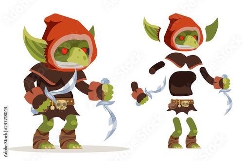 Goblin assassin outlaw thief burglar evil minion dungeon
