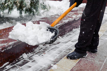 City Service Cleaning Snow , W...