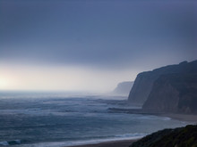 Foggy Morning On The Central Coast, California