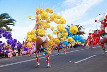 Carnival Groups And Costumed C...