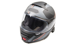 Gray Black Shiny Motorcycle Fl...