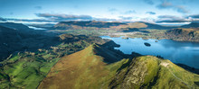 Lake District, UK- Panoramic A...