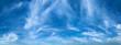 Leinwandbild Motiv blue sky with white skins