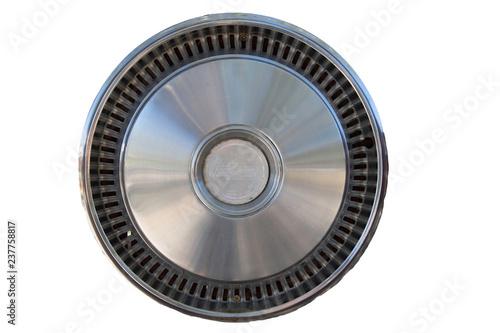 Fotografie, Obraz  vintage Chevy hubcap