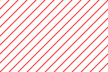 Diagonal Stripe Pattern Red And White. Design For Wallpaper, Fabric, Textile. Simple Background