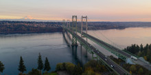 Aerial View Tacoma Narrows Bri...