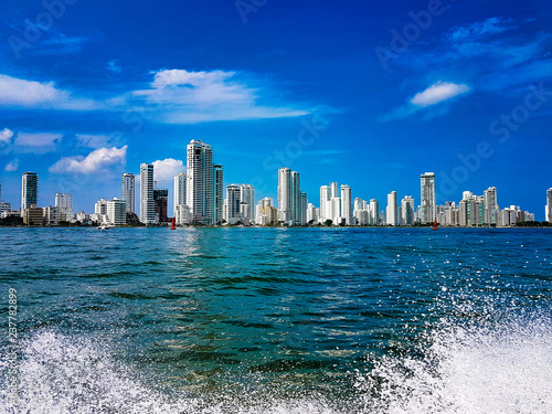 Fotobehang Zuid-Amerika land Cartagena de indias