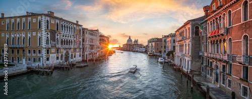 In de dag Centraal Europa Venedig Panorama mit Blick über den Canal Grande, Italien