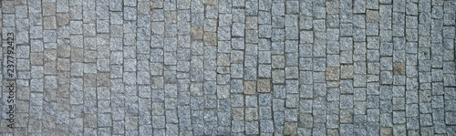 Setts texture ( also called cobblestone texture ) Canvas Print