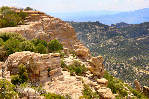 Fotografie, Obraz  Hoodoo rock formations in the Mount Lemmon mountains of Arizona