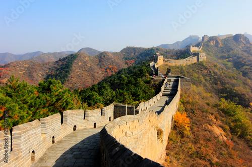 Obraz na plátně  Jinshanling Great Wall scenery, China