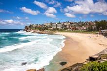 Tamarama Beach In Sydney Eastern Suburbs