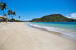 Pristine beach in St. Kitts