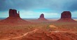 Time-lapse of Monument Valley Arizona.