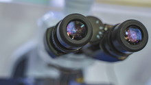 Digital Microscope In Laboratory