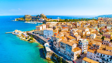 Panoramic View Of Kerkyra, Cap...