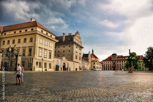 Spoed Foto op Canvas Centraal Europa Prager Burg
