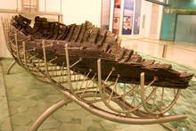 Jesus' Boat. Old Boat Uncove...