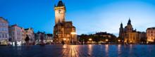 Panorama Of The Night Square Of Prague