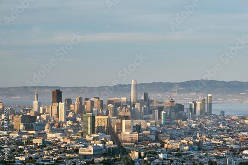 Papiers peints Lieux connus d Amérique San Francisco skyline, California