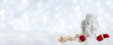 White Christmas - Cute Angel I...