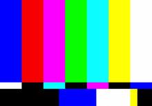 No TV Signal Chanel Program Ba...