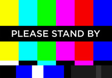 No TV Signal Chanel Program Ba...