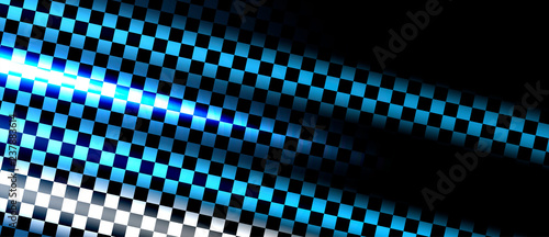 Fotografía Racing speed background, vector illustration abstraction in car track