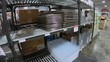 Restaurant Kitchen Pan and Containers at Chefzone in Honolulu on the Island of Oahu, Hawaii.