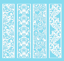 Ornamental Panels With Floral ...
