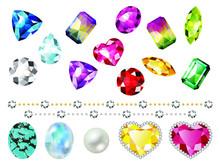 宝石セット素材