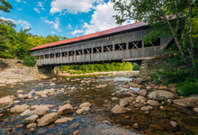 Albany Covered Bridge, In Whit...