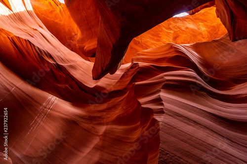 In de dag Centraal-Amerika Landen Lower Antelope Canyon