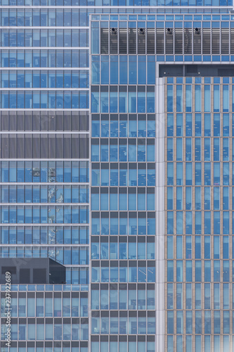 Spoed Foto op Canvas Stad gebouw Modern and contemporary office building