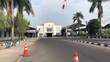 Hyperlapse footage of roads around Tugu Railway Station, Yogyakarta city