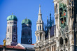 Old town hall Marienplatz in Munich Germany