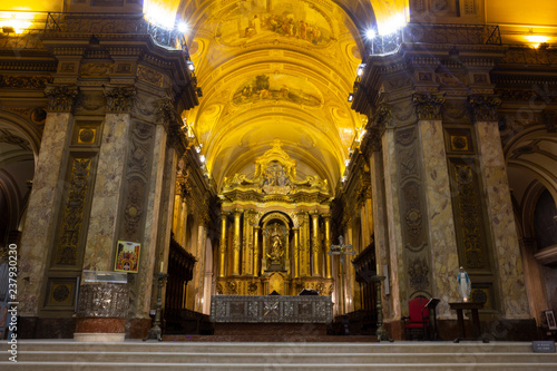 Photographie  Metropolitan Cathedral, San Martin, Buenos Aires, Argentina.