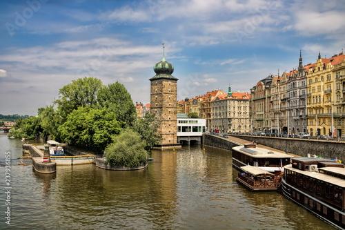 Prag, Moldauufer