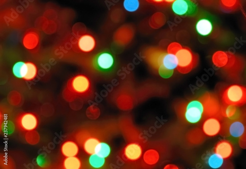 Fotografía  Backgrounds collection - Blurred colored light background