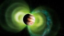 Jupiter And Io Interaction, Illustration