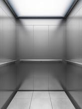 Empty Elevator Cabin, Illustration